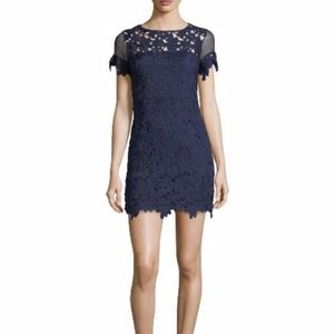 Romeo & Juliet Couture Blue Lace cocktail dress M